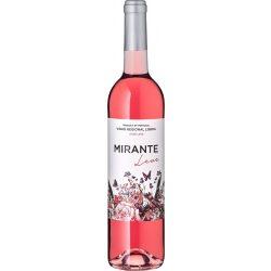 Vinho Regional Lisaboa Rosé Leve MIRANTE Leve 0,75L / 750ml 9,5% vol Portugál rosé bor