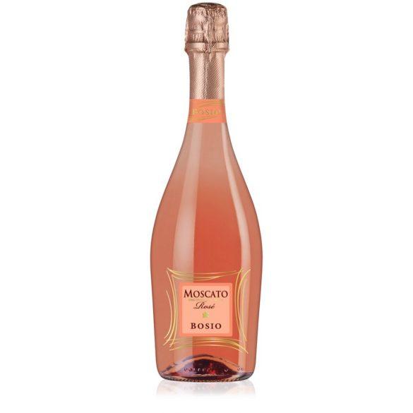 Bosio Moscato Vino Spumante Dolce Rosé Olasz Pezsgő 0,75L - 7%