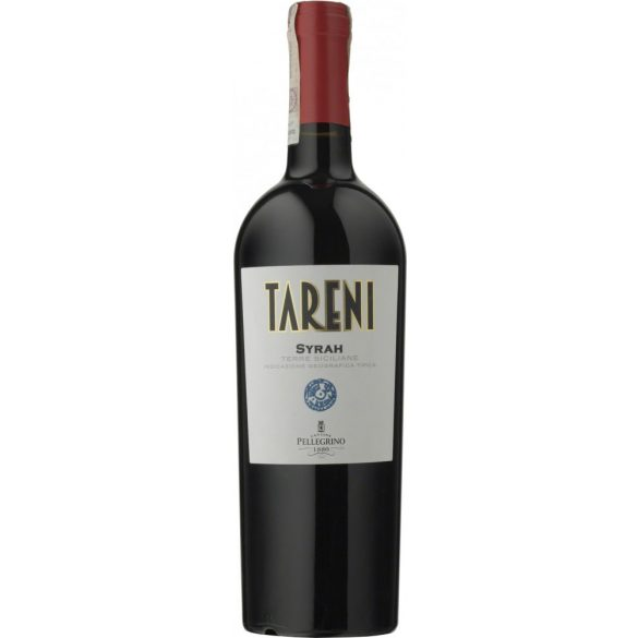Cantine Pellegrino Tareni Syrah Terre Siciliane Vörösbor IGT 2018 13,5% - 0,75L