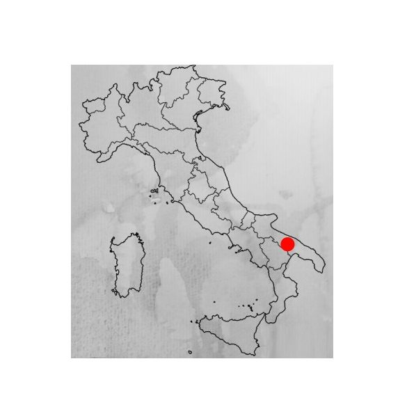 Tenuta Patruno Perniola LENOS Primitivo IGT Puglia 0,75l 14% Vörösbor
