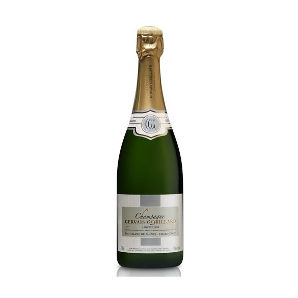 Gervais Gobillard Champagne Blanc De Blancs francia pezsgő, 0,75l, 12%