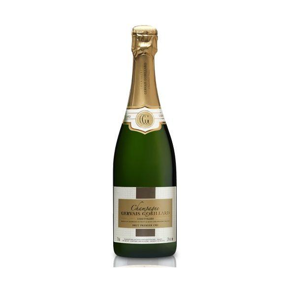 Gervais Gobillard Champagne Brut Premier Cru francia pezsgő, 0,75l, 12%