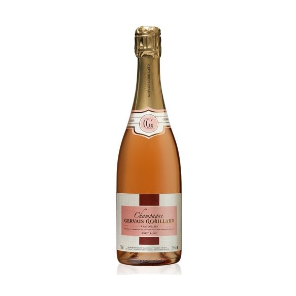 Gervais Gobillard Champagne BRUT ROSÈ francia pezsgő, 0,75l, 12%