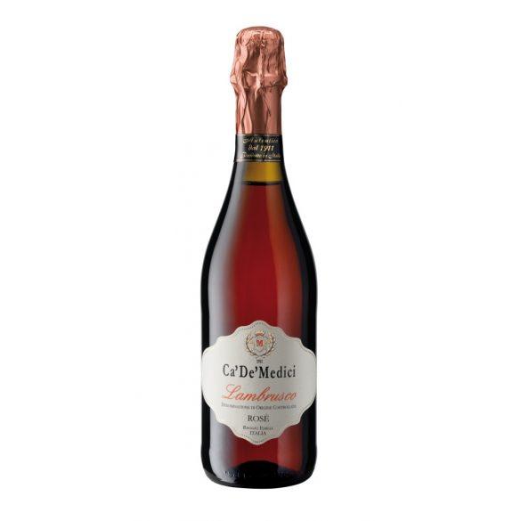 Ca' De' Medici Lambrusco Rosé- Vino Frizzante Semisecco DOC 0,75l - 9%
