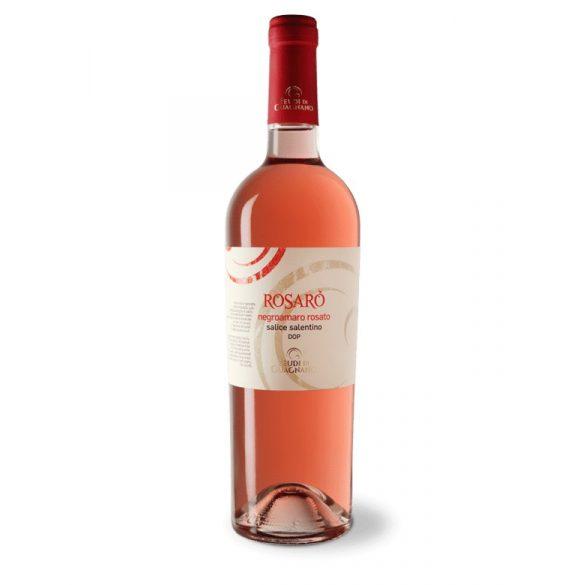 Feudi Di Guagnano Rosaro Negroamaro Salento IGP 2018 Olasz Rozé bor 13% - 0,75L