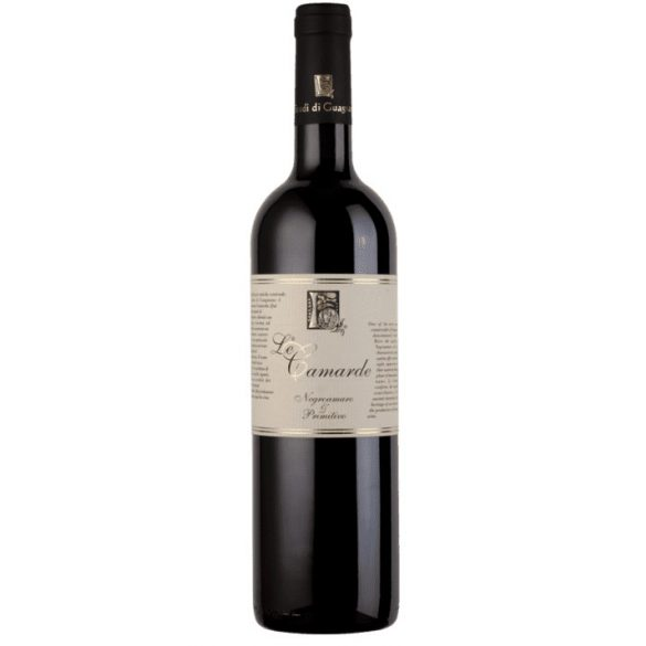 Le Camarde Salento Rosso IGT Negroamaro & Primitivo 2015 Olasz Vörösbor 0,75l 13,5%