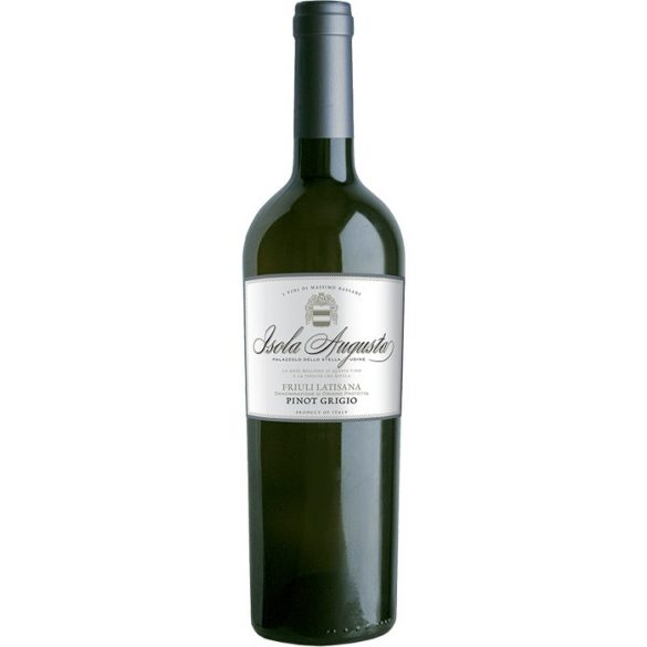 Isola Augusta Bianco Pinot Grigio DOP Friuli 2017 0,75l 12% fehérbor