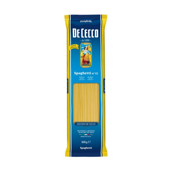 De Cecco hagyományos olasz spagetti tészta  Spaghetti no.12