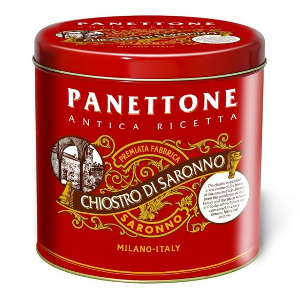 Lazzaroni Klasszikus Panettone Elegáns Metáldobozban 1000 g