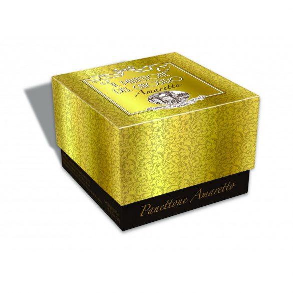 Lazzaroni Amaretto Krémmel Töltött Panettone Arany Színű Dobozban 750 g