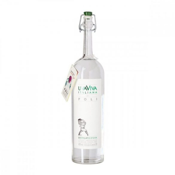 Jacopo Poli Grape Brandy UvaViva Italiana - 40% 0,7l