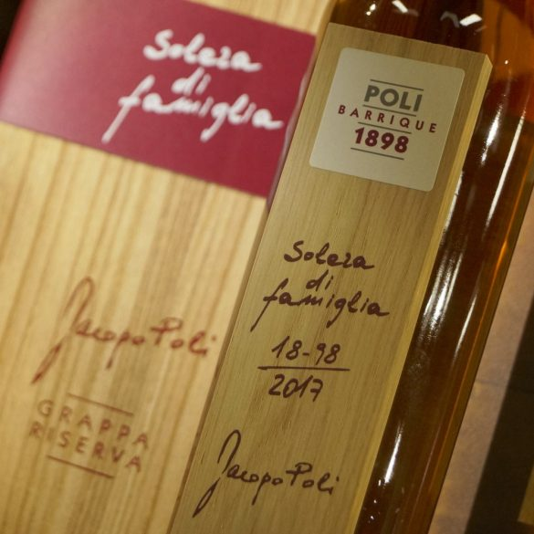 Jacopo Poli Barrique Solera Di Famiglia Grappa - 55% 0,7l