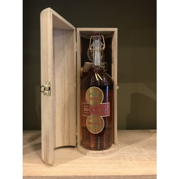 POLI DUE BARILI Grappa BARRIQUE 0,7L / 700ml, 40%