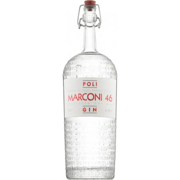 Jacopo Poli Marconi 46 Distilled Dry Gin - 46 % 0,7l