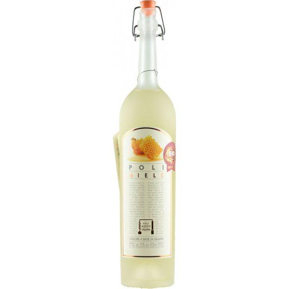 Jacopo Poli Miele Honey Liquore A Base Di Grappa - 35% 0,5l