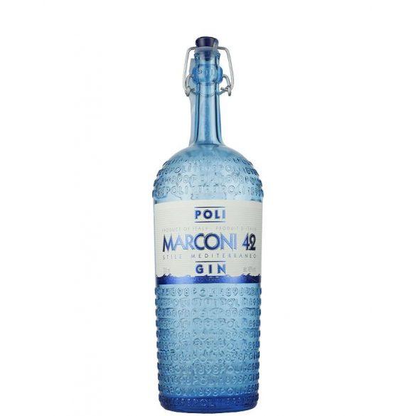 JACOPO POLI MARCONI 42 DISTILLED DRY GIN - 42 % 0,7L