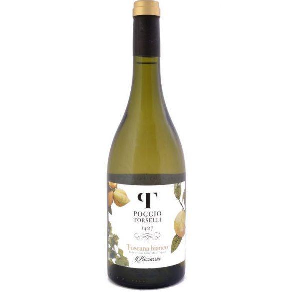 Poggio Torselli Bizzarria Toscana IGT fehérbor 2017 0,75 L / 750 ml 13,5%