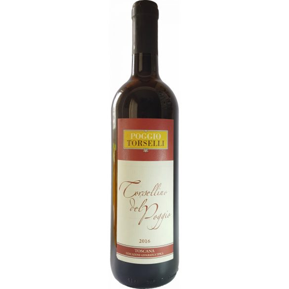 Torsellino Del Poggio Toscana Vörösbor 2016 0,75 L / 750 ml 12,5%
