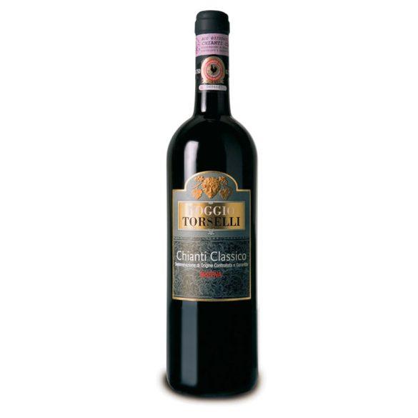 Poggio Torselli Chianti Classico Riserva DOCG Vörösbor 2015 0,75 L / 750 ml 14,5%