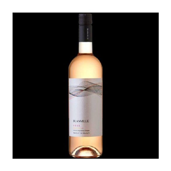 Chateau Haut-Blanville IGP Pays d'Oc Rosé 2017 / Rosé bor / 0,75L / 750ml 12,0% vol