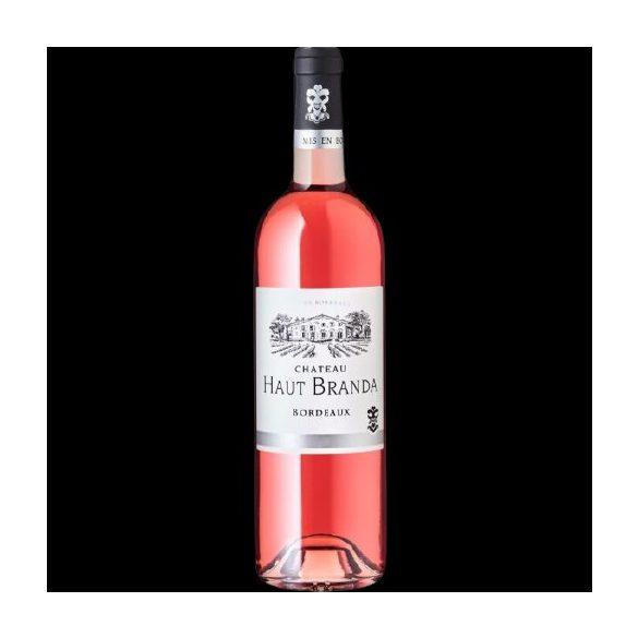 Chateau Haut Branda Bordeaux Rosé AOP 2017 / Rosé bor / 0,75L / 750ml 13,0% vol