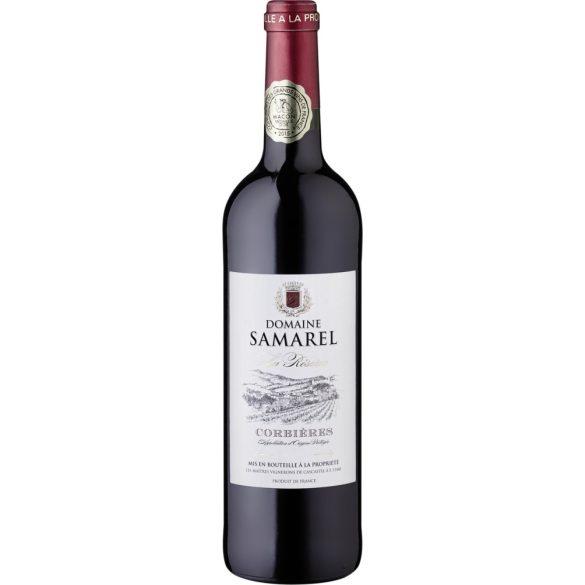 Vignerons de Cascastel Domaine Samarel Corbières La Réserve AOP Vörösbor 2015 0,75L / 75ml 13,5% vol