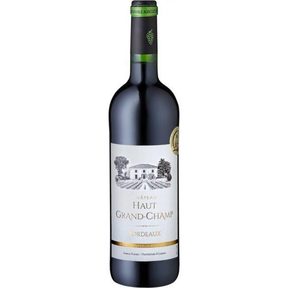 Chateau Haut Grand-Champ rouge Bordeaux AOC 2014 Vörösbor 075L / 750ml / 12,5% vol