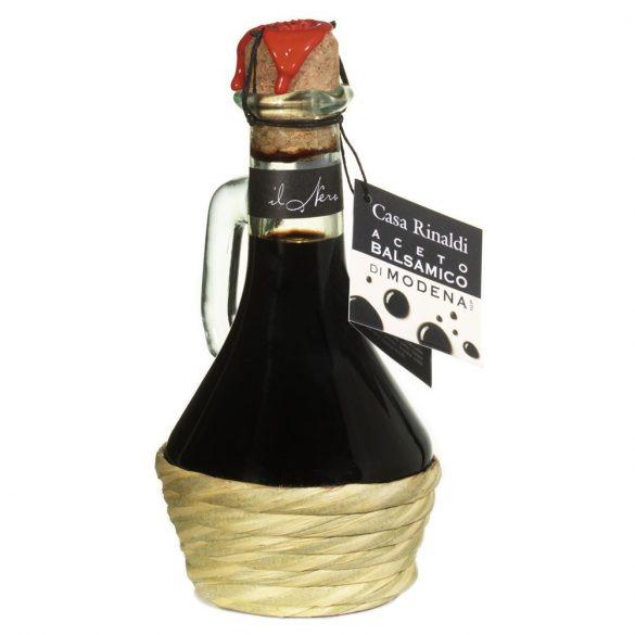 Casa Rinaldi Balzsamecet / Aceto Balsamico di Modena il Nero, különleges Toscan / toszkánai üvegben, 250ml