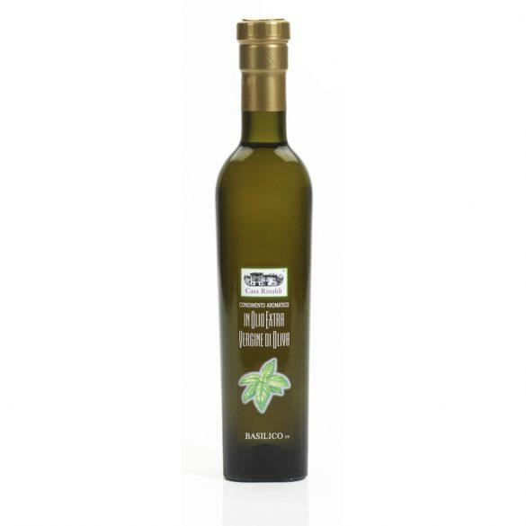 Casa Rinaldi Extra szűz olivaolaj, bazsalikom ízű / e basilico / 250ml