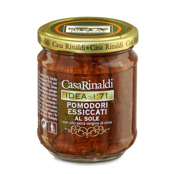 Casa Rinaldi Szárított Pomodori paradicsom extra szűz olívaolajban / Dried Tomatoes in Extra Virgin Olive Oil / 200g
