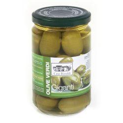 Casa Rinaldi Óriás / nagy / olívabogyó / Olive VERDI GIGANTI / Green Big Olives/ 310g