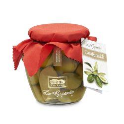 Casa Rinaldi Óriás / nagy / olívabogyó / The Gaint La Bella Di Cerignola DOP Green Olives / 350g