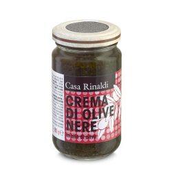 Casa Rinaldi Fekete olivabogyó krém olívaolajban / Crema di olive nere / Black Olives Sauce in Olive Oil / 180g