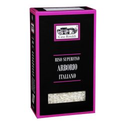 Casa Rinaldi ARBORIO kerekszemű / kerek szemű / rizottó rizs / Arborio Rice / 1kg