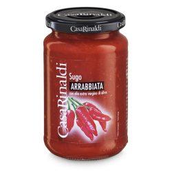 Casa Rinaldi Arrabbiata szósz csípős / mártás / Arrabbiata Sauce / 350g