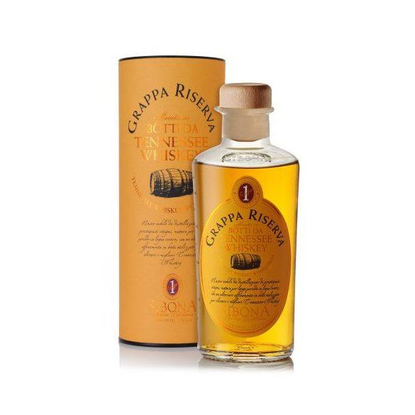 Sibona Grappa Riserva in Botti da Tennessee Whiskey 0,5 L / 500 ml 44%