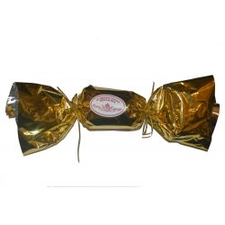 Klasszikus panettone, arany szaloncukor formájú csomagolásban 100 g