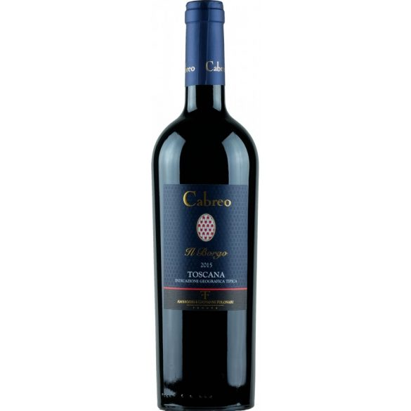 Tenute del Cabreo Il Borgo Toscana IGT 2015 14% 0,75L / 750ml Olasz Vörösbor