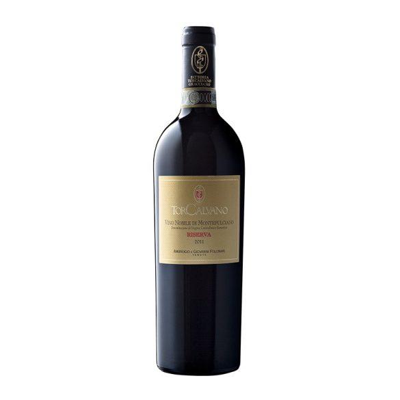 Tenuta Torcalvano Vino Nobile di Montepulciano Riserva DOCG 2011 0,75L / 750ml Olasz Vörösbor