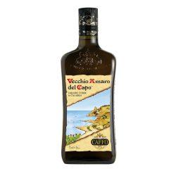 CAFFO Vecchio Amaro del Capo 29 Gyógynövény tartalmú Likőr 0,7L / 700ml 35%