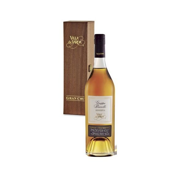 Villa de Varda Grand Cru Grappa Brunello Riserva 0,7 liter / 700 ml 40%