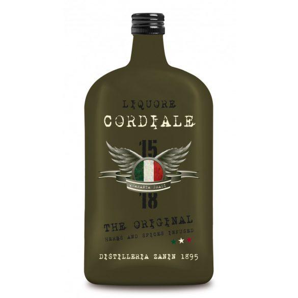 Zanin 1895 Cordiale Likőr - Citruslikőr - 0,7 L / 700 ml 40%