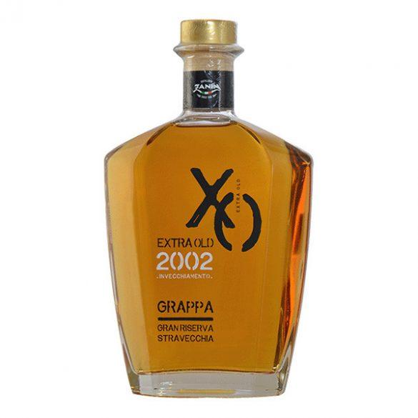 Zanin 1895 XO Grappa Gran Riserva Stravecchia 2002 Extra Old 0,7 L / 700 ml 40%