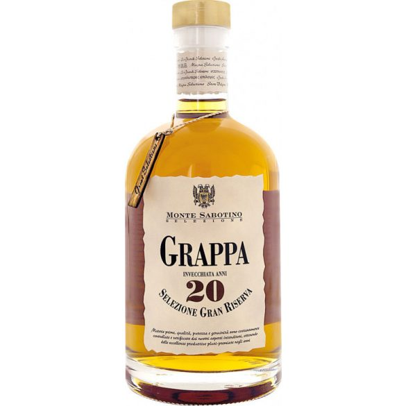 Zanin Grappa Invecchiata 20 éves Gran Riserva 0,7 L / 700 ml 40%
